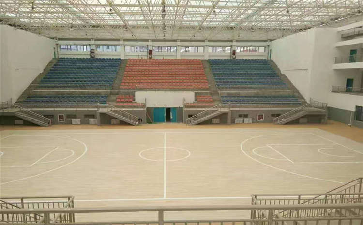 单层龙骨结构篮球馆木地板哪个品牌好?