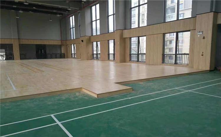 舞台木地板安装环境是什么?