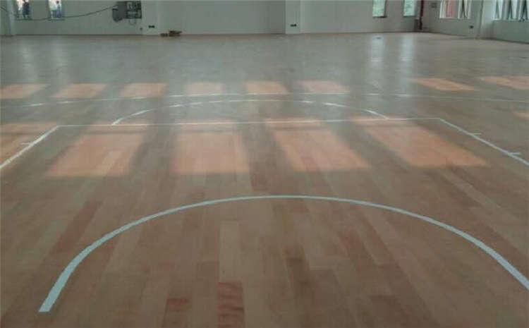 上海楓樺木籃球場地板品牌