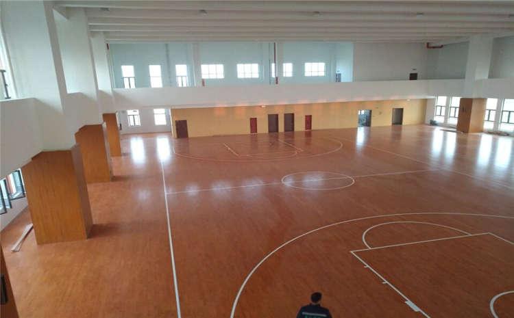 单层龙骨结构篮球木地板生产厂家