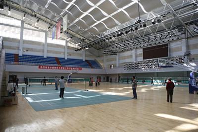 羽毛球馆体育运动木地板