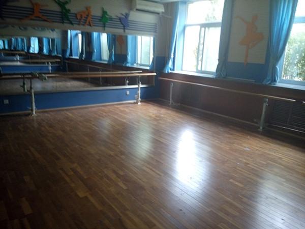 运动木地板施工案例-北京小学走读部
