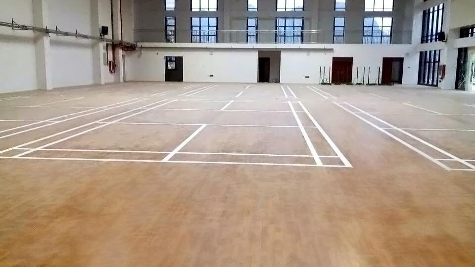 贵州安顺紫云县民族中学运动木地板