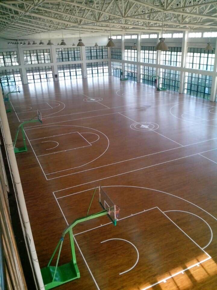 芜湖市第一中学篮球馆木地板工程