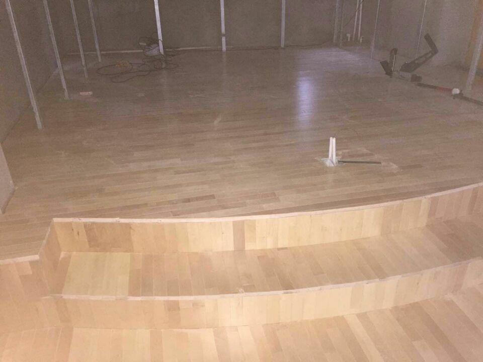 北京舞台木地板案例昌平八仙别墅