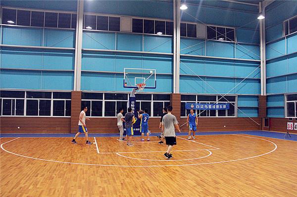 杭州怀诚体育中心篮球木地板案例-北京欧氏地板