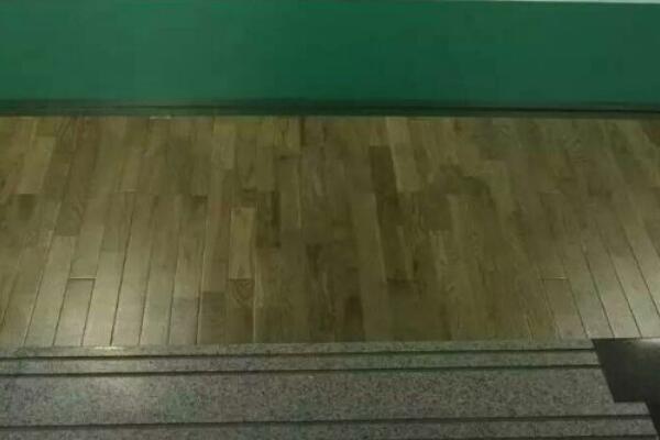 山东青岛羽毛球馆运动木地板成功案例