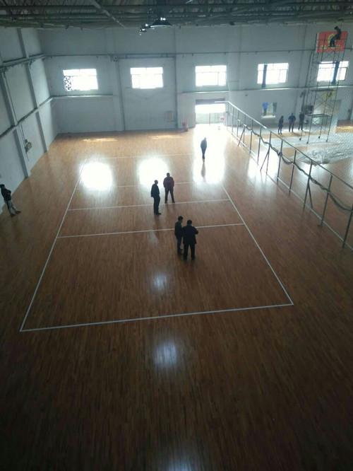 河北邢台体育馆运动木地板