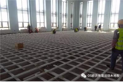 甘肃敦煌体育木地板:敦煌行业酒店体育运动木地板图1