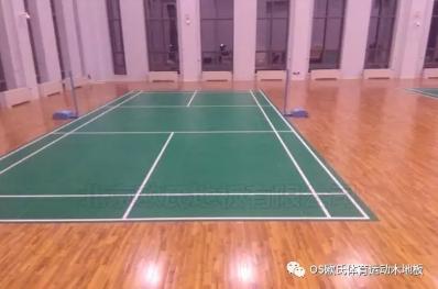 甘肃敦煌体育木地板:敦煌行业酒店体育运动木地板图3
