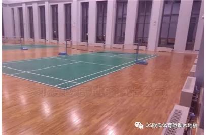 甘肃敦煌体育木地板:敦煌行业酒店体育运动木地板图4
