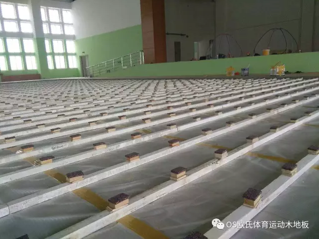 汕头特殊教育学校篮球馆木地板案例图4