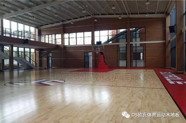 泉州盛荣集团篮球馆地板效果图3