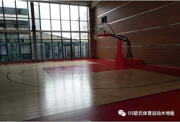 泉州盛荣集团篮球馆地板效果图4