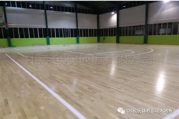 单龙骨运动木地板--广东省连州市地方税务局成功案例图2
