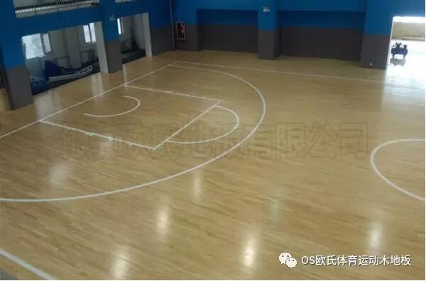山西阳泉市城区行政审批服务中心篮球馆木地板案例