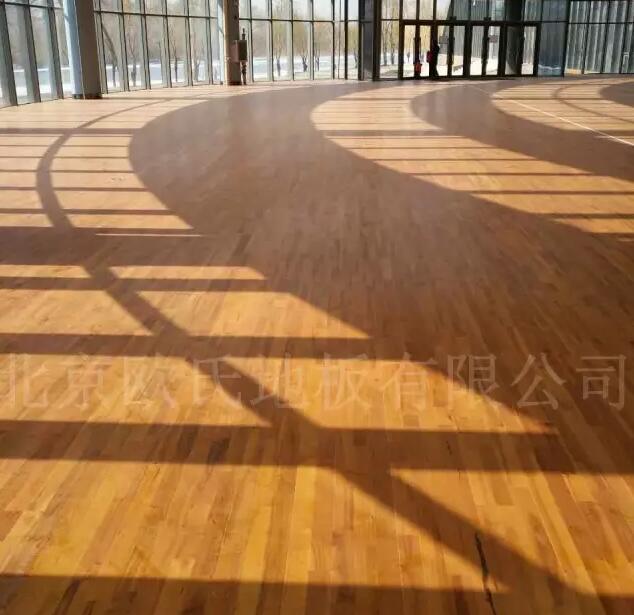 吉林省临江体育馆木地板案例