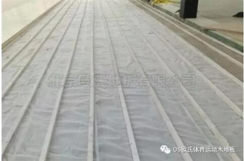 杭州富阳区23篮球馆木地板成功案例