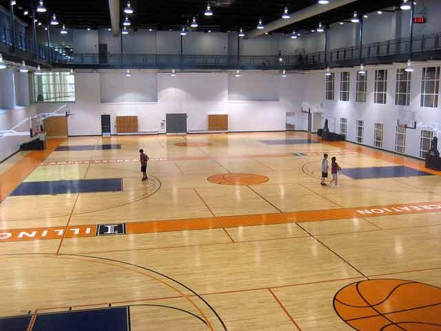 体育木地板生产,设计,施工,维护于一体