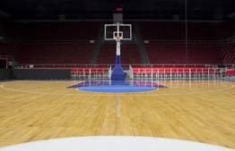 运动木地板球体回弹率为90%以上