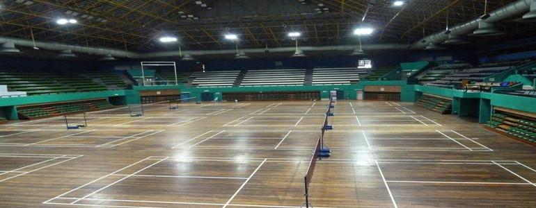 羽毛球馆地板的保养法则