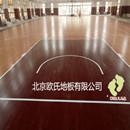 山东临沂室内篮球木地板--临沂72313部队篮球馆木地板案例