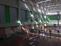 内蒙古运动木地板:锡林郭勒盟太仆寺旗宝昌镇羽毛球馆木地板案例