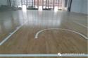 湖北宜昌篮球木地板:宜昌土门中学篮球木地板铺设工程案例