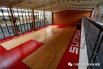 福建篮球馆地板;泉州盛荣集团篮球馆地板成功案例