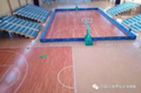 山西篮球馆地板案例:山西工商学院篮球馆木地板案例