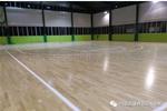 单龙骨运动木地板--广东省连州市地方税务局成功案例