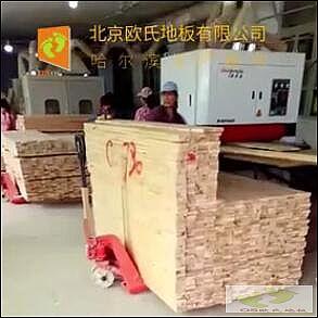 欧氏地板生产厂运动木地板制作工艺