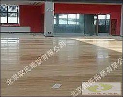安徽蚌埠市怀远全民健身活动中心枫木一级三拼板案例