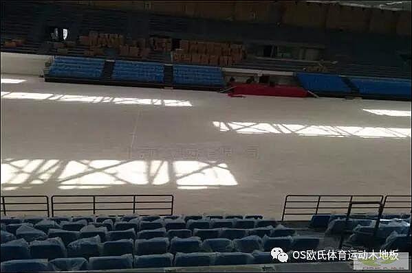 甘肃省酒泉市体育篮球木地板铺设工程