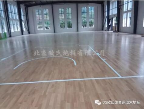 杭州富阳区万市中学体育馆木地板成功案例