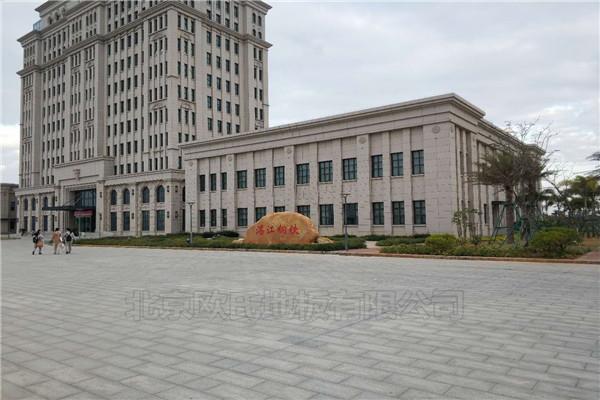 广东湛江钢铁厂篮球馆木地板案例