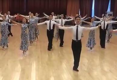 上海德艺体育舞蹈专修学院无锡校区舞蹈木地板案例(有视频)