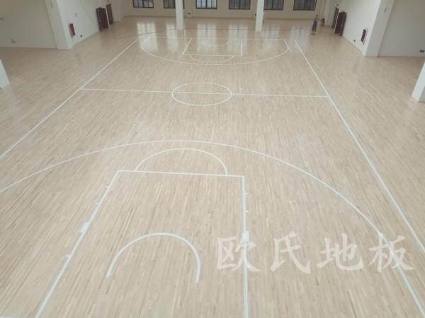 贵阳市清华中学分校体育馆地板