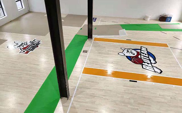北京朝阳区祈园文化创意小镇运动木地板项目