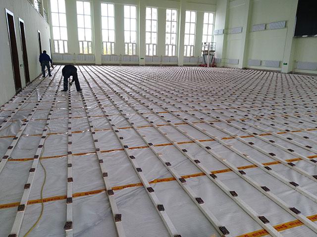 四川宜宾中国白酒学院舞台木地板项目