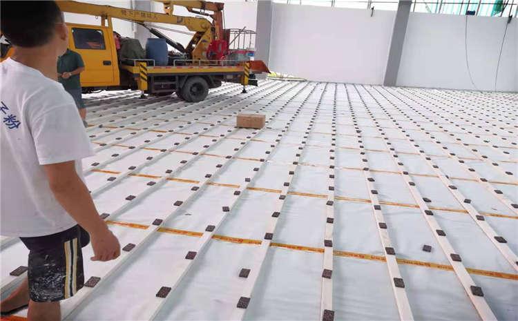 福建工程学院南校区体育馆木地板