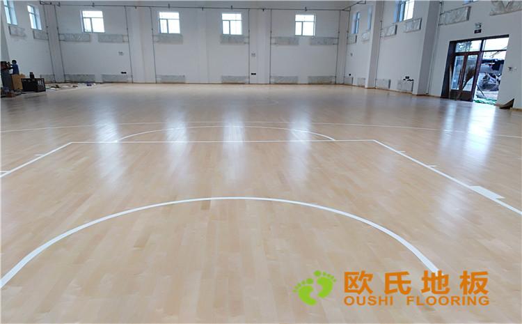 佳木斯市同江消防队篮球馆木地板案例