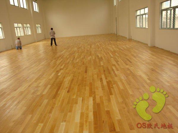 运动木地板案例