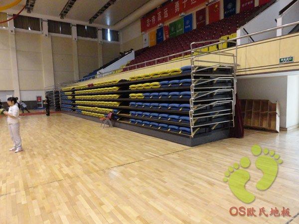 北京工商大学体育馆运动木地板案例