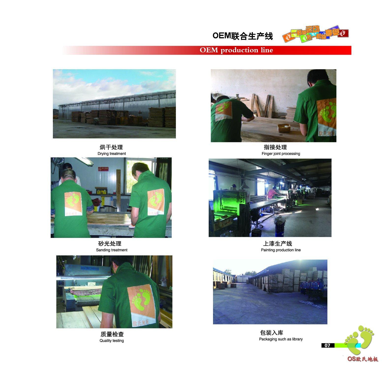 北京欧氏地板工厂图